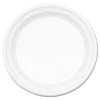 Foam plastic disposable plates