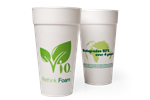 Biodegradable Foam Cups and Lids