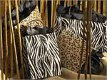 Printed Shopping Bags -- Safari Series: Zebra and Leopard