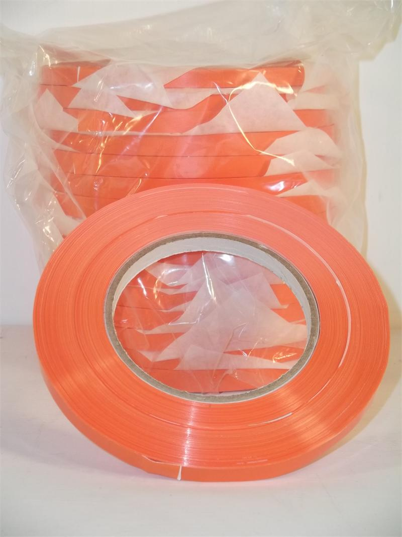 Orange vinyl tape