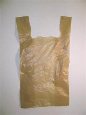 -shirt Bag (500) BUFF COLOR - Stewart's Packaging, Houston