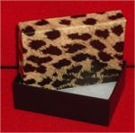 3 x 2-1/8 x 1 Leopard Print Gift Boxes (100)