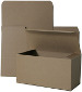8 x 8 x 3.5 One-Piece Kraft Gift Box / 100