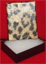 2 x 1-1/2 x 5/8 Leopard Print Gift Boxes