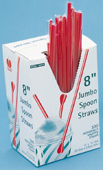 Unwrapped Spoon Straws - Stewart's Packaging, Houston