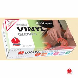 Medium Powder Free Vinyl Gloves 100 Per Box Or 10 100 Per